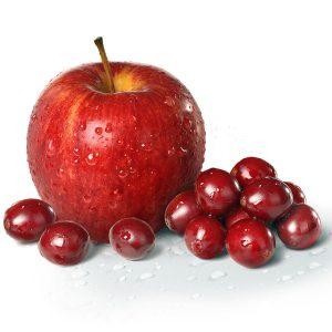 """Красное яблоко и брусника для рецепта """"Джем из яблок и брусники"""" фото"""