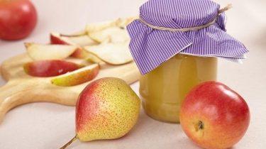 Яблочное повидло-ассорти в баночке фото
