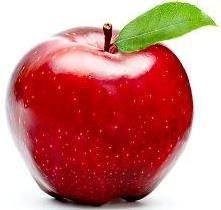Яблоко красное фото
