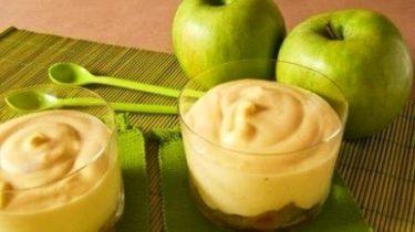 Самбук яблочный в креманке фото